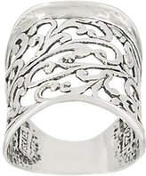 Or Paz Sterling Bold Filigree Ring