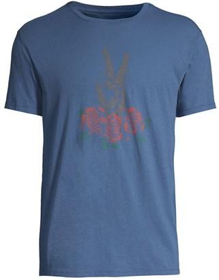 John Varvatos Hand & Rose Cotton T-Shirt