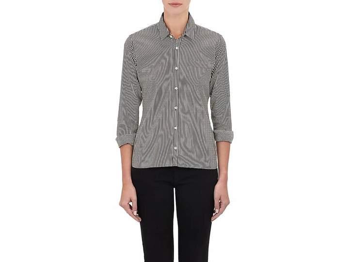 Alexander Olch Women's Stripe Poplin Shirt