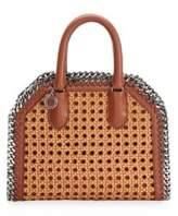 Stella McCartney Wicker Chain Tiny Tote Bag