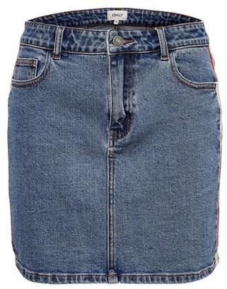 Dorothy Perkins Womens **Only Mid Wash Denim Skirt