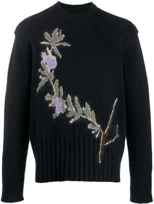Jacquemus floral intarsia sweater