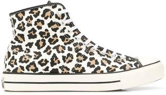 Converse leopard print Chuck Taylor sneakers