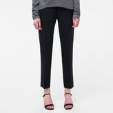Paul Smith Women's Slim-Fit Black Wool Trousers