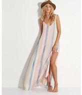 Billabong Women's Sky High Woven Printed Maxi Dress