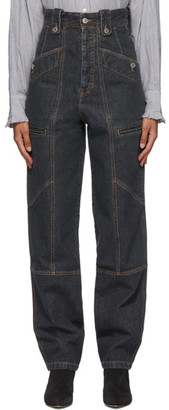 Etoile Isabel Marant Grey Neko Jeans