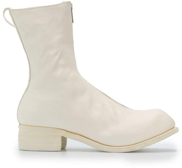 Guidi zip-up boots