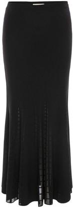 Alexander McQueen Ribbed Knit Skirt