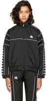 Kappa Ssense Exclusive Black Oversized Windbreaker Track Jacket