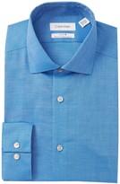 Calvin Klein Solid Slim Fit Dress Shirt