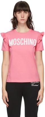 Moschino Pink Ruffle T-Shirt