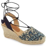 Patricia Green Women's Ankle Wrap Espadrille Wedge