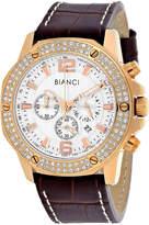 Roberto Bianci Mens Brown Bracelet Watch-Rb54502