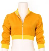 CG Costume Women's Pokemon Go Trainer Cropped Hoodie Jacket Costume Cosplay Medium