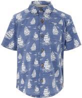 Monsoon Dudley Print Short Sleeve Shirt