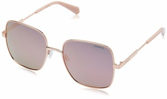 Polaroid Women's Pld 6060/s 201352EYR570J Square Sunglasses 57 mm