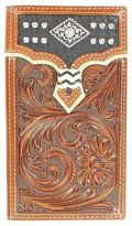 Nocona Western Wallet Mens Rodeo Tooled Diamond N5458208