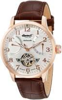 Ingersoll Men's IN6910RSL Stetson Ii Analog Display Automatic Self Wind Brown Watch