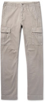 Jean Shop - Gene Slim-fit Cotton-twill Cargo Trousers