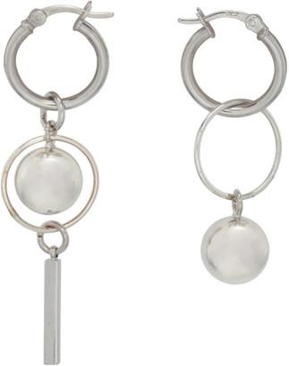 Mounser Silver Solar Petite Hoop Earrings