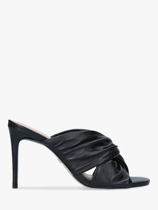 Carvela Guava Stiletto Heel Leather Mules