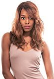 Born Free [Lace Front Wig] Magic Lace Natural Curved Part Wig Synthetic Full Wig - MLC189 (CACAO_BROWN)