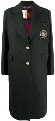 Tommy Hilfiger Crest Embroidery Recycled Coat