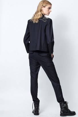 Zadig & Voltaire Palmy Pinstripes Pants