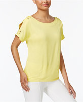 Cable & Gauge Cupio Cold-Shoulder T-Shirt