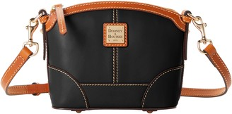 Dooney & Bourke Wexford Leather Mini Domed Crossbody