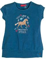 Salt&Pepper SALT AND PEPPER Girl's Horses Uni Bündchen T-Shirt