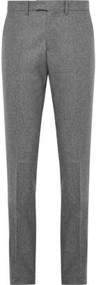 Salle Privée Grey Rocco Slim-Fit Melange Wool-Flannel Suit Trousers