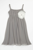 Us Angels Empire Waist Dress (Little Girls & Big Girls)