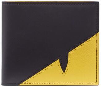 Fendi Corner Bugs Leather Wallet