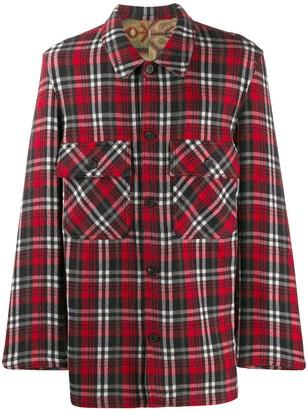Pierre Louis Mascia Pierre-Louis Mascia plaid shirt