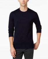 Michael Kors Men's Pattern Blocked Crew-Neck Sweater