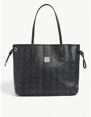 MCM Project Visetos reversible medium leather tote bag