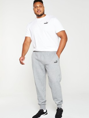 Puma Plus Size Essential Logo Pants - Grey