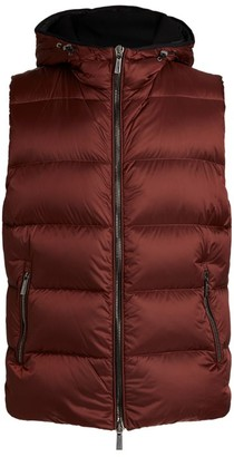 Moorer Padded Hooded Gilet
