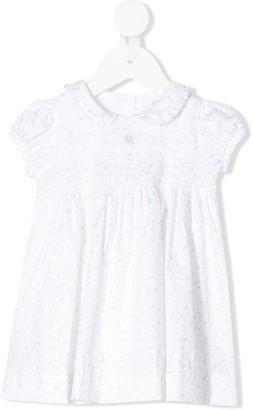 Patachou Cupcake-Print Ruffle-Collar Dress