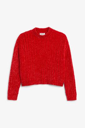 Monki Velvety knit sweater