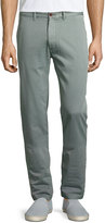 Faherty Chino Straight-Leg Beach Pants, Green