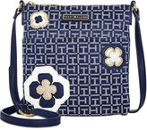 Tommy Hilfiger Novelty Logo Embellished Monogram Crossbody
