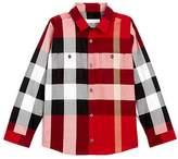 Burberry Boys' Mini Camber Button-Down Check Shirt - Little Kid, Big Kid