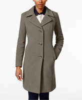 Anne Klein Petite Wool-Cashmere-Blend Walker Coat, Only At Macy's