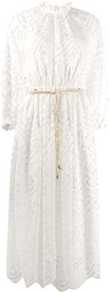 Zimmermann lace midi dress