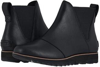 Sorel Harlow Chelsea (Black) Women's Boots