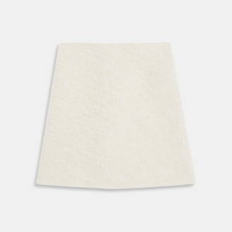 Theory A-Line Mini Skirt in Wool Boucle