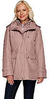 As Is Liz Claiborne New York Zip Front Anorak Coat w/ Quilting