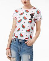 Mighty Fine Juniors' Watermelon Graphic T-Shirt